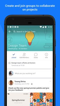 Workplace by Facebook الملصق