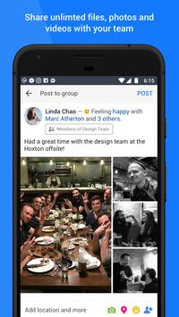 Workplace by Facebook apk 截图