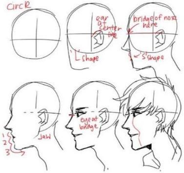 Face Drawing Tutorial screenshot 4