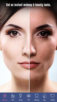 面部美容化妝相機 截圖 1