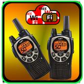 my wifi walkie talkie : mobile icon