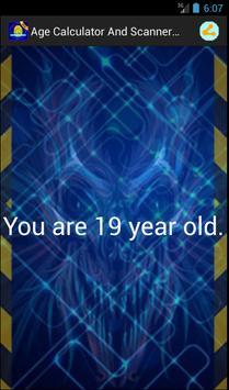 Age Calculator Simulated Free apk screenshot