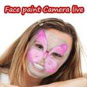 face paint camera live icon
