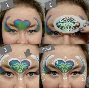 Face Painting Art poster