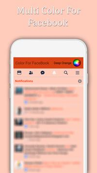 Multi Color For Facebook capture d'écran 5