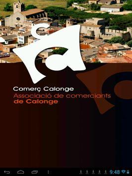 Comerç Calonge poster