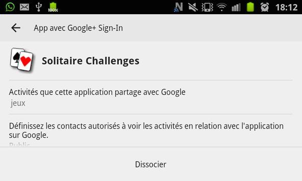 Solitaire Gratuit Challenges screenshot 3