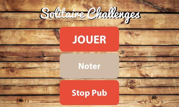 Solitaire Gratuit Challenges poster