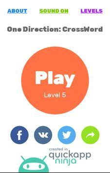 One Direction: CrossWord Challenge screenshot 8
