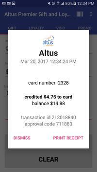 Altus Premier Mobile App apk screenshot