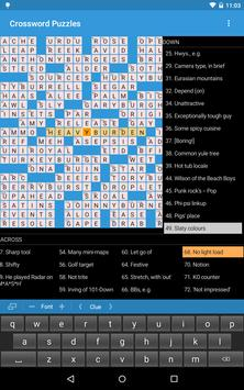 Crossword Puzzles Free apk screenshot