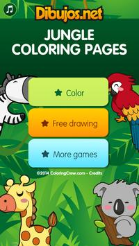Jungle Coloring  Pages screenshot 3