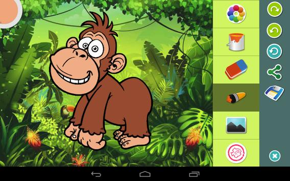 Jungle Coloring  Pages screenshot 6