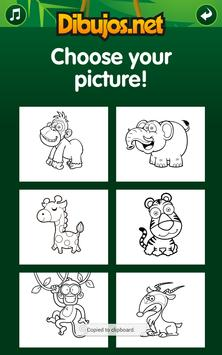 Jungle Coloring  Pages apk screenshot