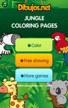 Jungle Coloring  Pages screenshot 9