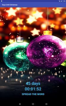 Days Until Christmas apk screenshot
