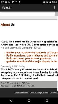 Fabe21 apk screenshot