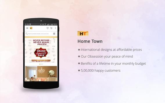 HomeTown – Furniture Store poster