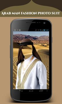 Arab Man Fashion Photo Suit poster