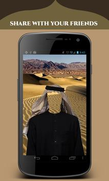 Arab Man Fashion Photo Suit screenshot 3