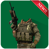 Commando Photo Suit Editor icon