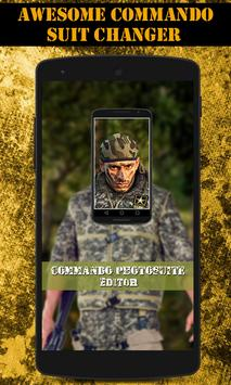 Commando Photo Suit Editor poster