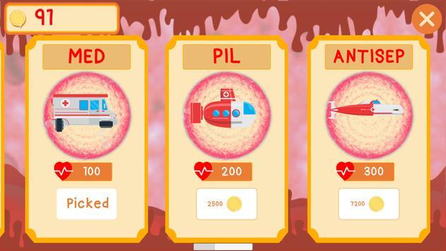 Antibiotic War screenshot 2