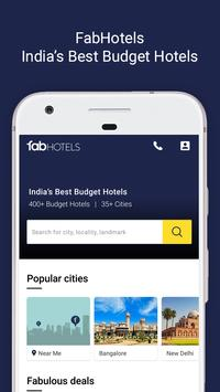 FabHotels – Hotel Booking App. Get Hotel Deals poster