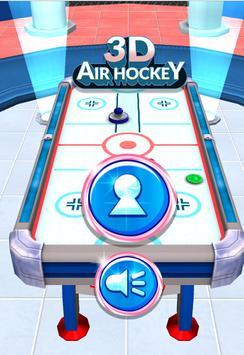 3D Air Hocket HTML 5 Game screenshot 1