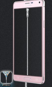Fabric Grey Zipper Lock Free screenshot 6