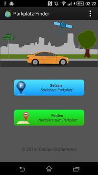Parkplatzfinder poster