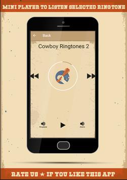Cowboy Ringtones apk screenshot