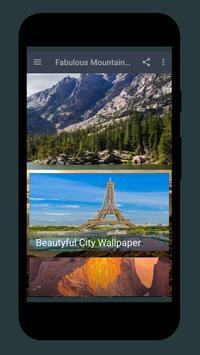 Fabulous Mountain wallpaper poster