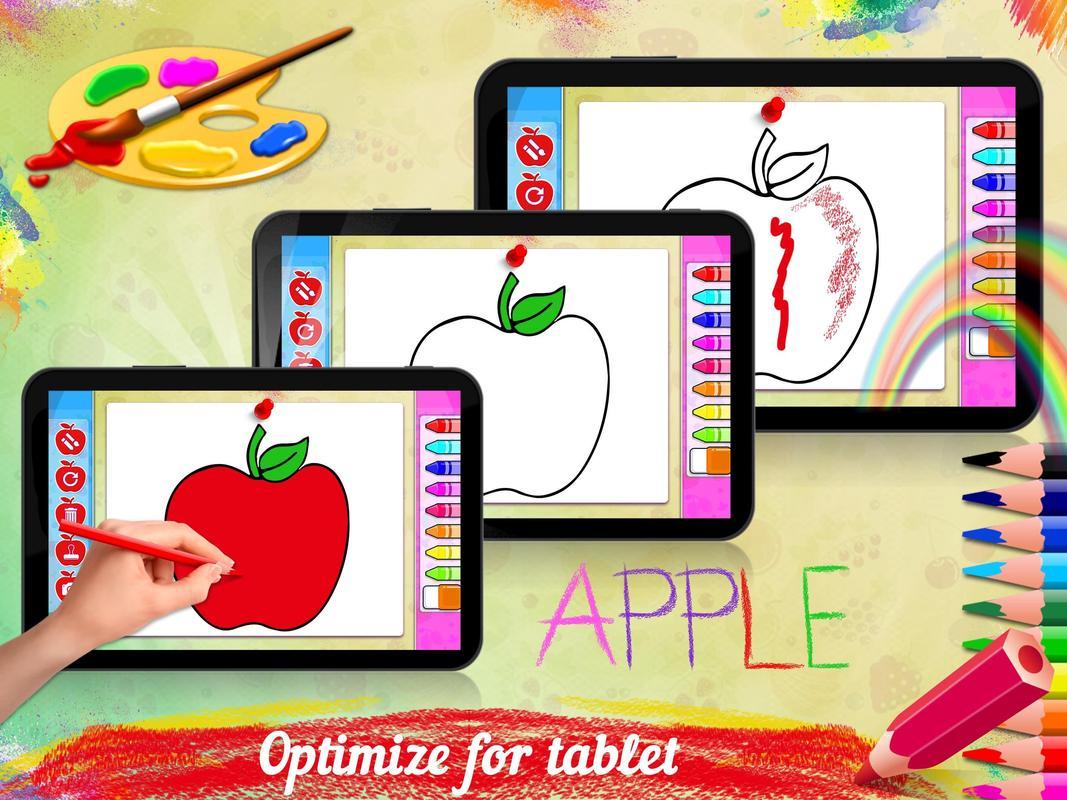 Buku Mewarnai Buah Buku Mewarnai Anak Anak For Android Apk Download