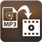 Add MP3 to Video icon