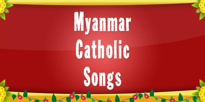 Myanmar Catholic Songs poster