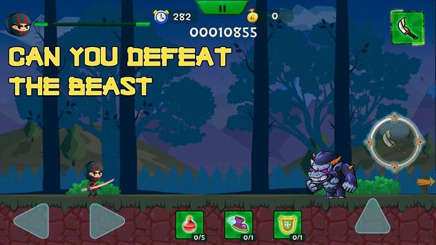 Randy Ninja Cunningham apk screenshot