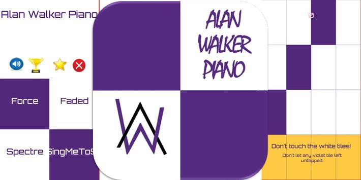 Alan Walker Piano Tiles पोस्टर