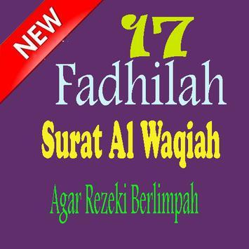 17 Fadhilah Surat Al Waqiah Agar Rezeki Berlimpah poster
