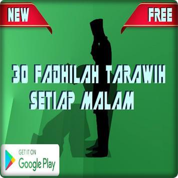 30 Fadhilah Tarawih Setiap Malam poster
