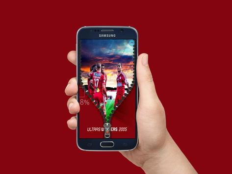 ultras winners zipper lock apk screenshot