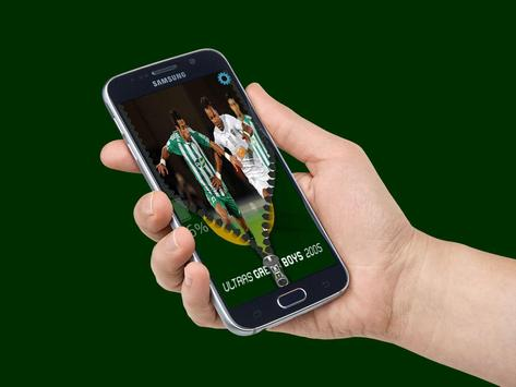 ultras green boys zipper lock apk screenshot