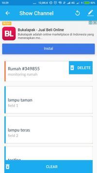 Thingspeak W/R screenshot 1