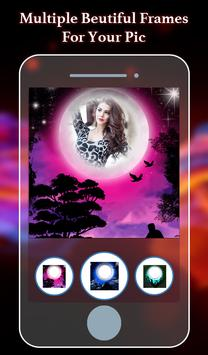 Night Photo Frame Editor poster
