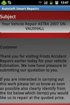 AutoSoft Smart Repairs apk screenshot