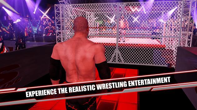 Cage Revolution Wrestling World : Wrestling Game captura de pantalla 4