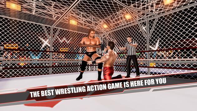 Cage Revolution Wrestling World : Wrestling Game captura de pantalla 6