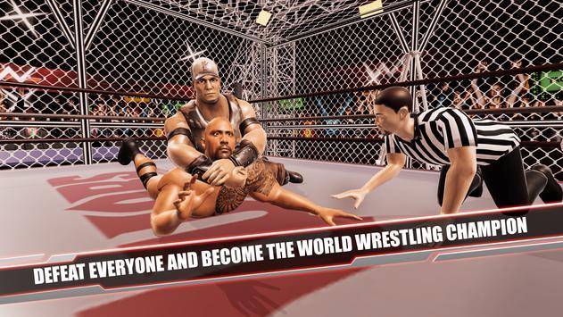 Cage Revolution Wrestling World : Wrestling Game captura de pantalla 14