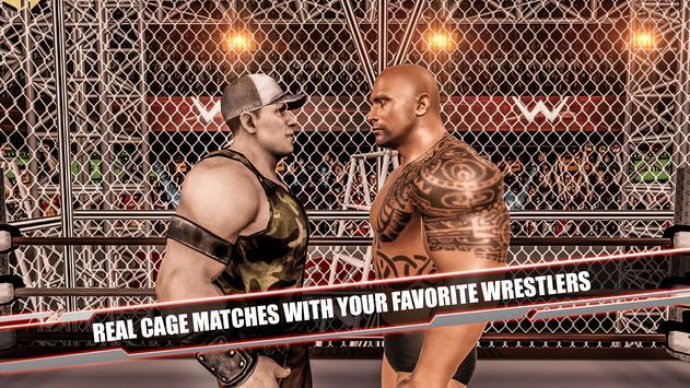 Cage Revolution Wrestling World : Wrestling Game captura de pantalla 16