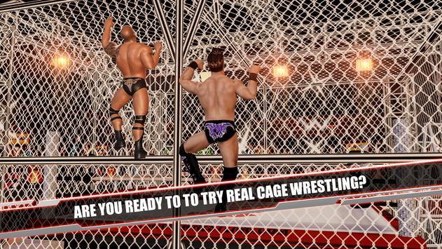 Cage Revolution Wrestling World : Wrestling Game captura de pantalla 3